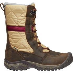 Keen Hoodoo III Tall Schoenen Dames, dark earth/beaujolais